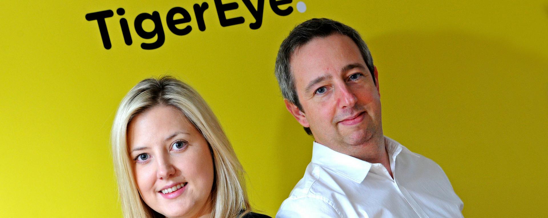 Tiger Eye Digital Davor Parker and Laura Blackburn